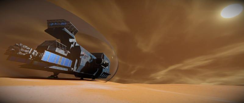 Scorpio on Mars